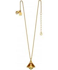 Orla Kiely N4037 gümüş altın arı kolye kaplama Bayanlar