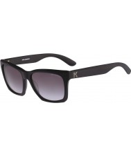 Karl Lagerfeld Mens kl871s mat siyah güneş gözlüğü