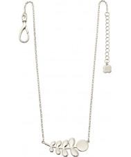 Orla Kiely N4015 Bayanlar gümüş kök desen kolye dostum