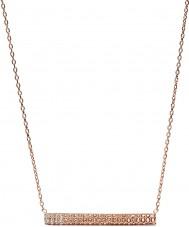 Fossil JF02144791 Bayanlar klasik altın glitz çubuğu kolye