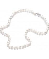 Purity 925 PUR6145 Bayanlar inci beyazı 45cm kolye
