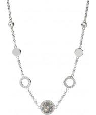 Fossil JF02312040 Bayanlar bağbozumu glitz gümüş çelik kolye