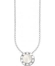 Thomas Sabo KE1492-029-14-L45v Sedef Bayanlar gümüş imza klasik kolye